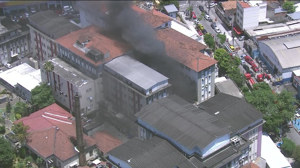 Hospital Bonsucesso incendio outy 2020