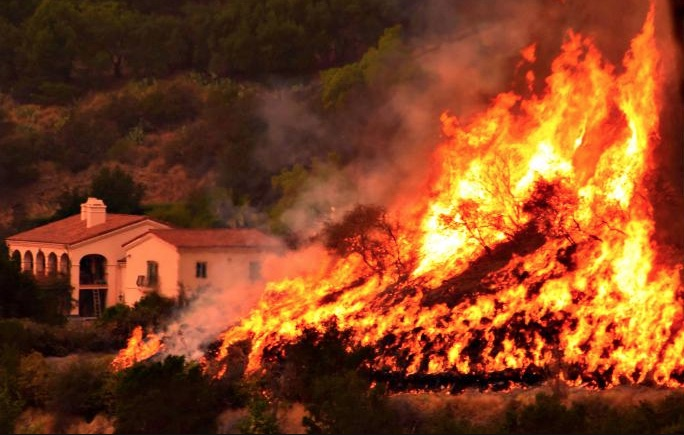 California incendio desastroso